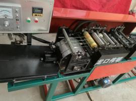 机械手抓袋点数设有温控系统的打蜡制袋机苹果袋机