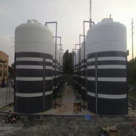 50立方大型滚塑化工储罐|耐酸碱50吨PE储罐