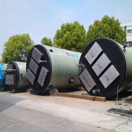定制一体化污水提升泵站 玻璃钢雨水泵站