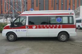 福特新世代V348救护车短轴中顶救护车