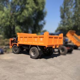 零售低矮窄体井下运输车 自卸矿用四轮车 车厢加厚定做