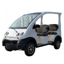 爱尔洁2排五座电动观光车四轮电动巡逻车观光代步车