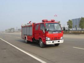 庆铃2吨水罐消防车大马力 小型消防车