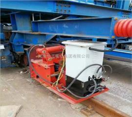 提梁机/行车/龙门吊电动弹簧液压夹轨器 轨道电动防风夹轨器