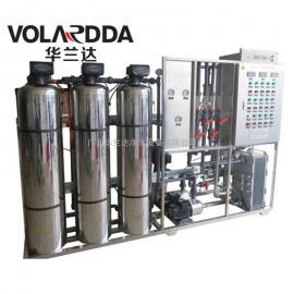 出口越南不锈钢EDI高纯水制取设备 华兰达CE认证1吨超纯水设备