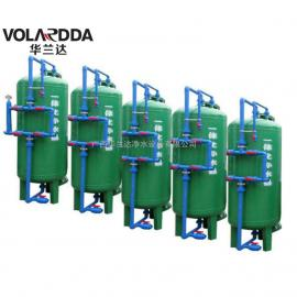 马山大型工业用地下水发黄怎么处理 选华兰达全自动除铁锰过滤器