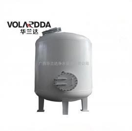 上林县宾馆井水中含有泥沙杂质 用石英砂机械过滤器 砂滤碳钢罐