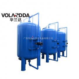 田东生活饮用水处理设备 除铁猛除浊华兰达碳钢多介质机械过滤器