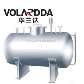 华兰达直供酸奶加工厂大容量卧式无菌纯水箱 耐腐蚀不锈钢储罐