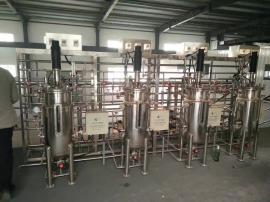批量出售二手三联生物发酵罐