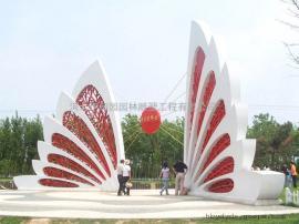 城市不锈钢雕塑大型蝴蝶雕塑 城市广场景观雕塑