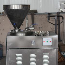 红肠腊肠自动整套加工设备 香肠自动灌肠机 香肠机器