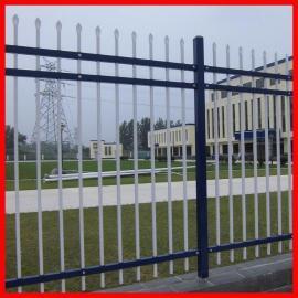 加工定做围墙护栏 小区锌钢围栏 院墙铁艺栅栏现货