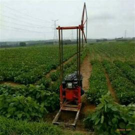 QZ-2C小型轻便式岩心取样钻机 30米汽油动力工程勘探钻机