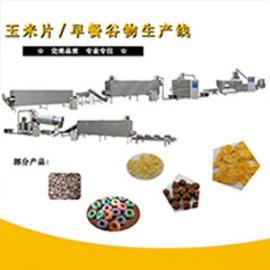 玉米片生产线膨化机设备