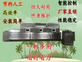 包装竹笋杀菌设备农副产品微波带式烘干灭菌机