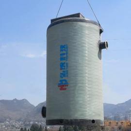 定制污水一体化提升泵站玻璃钢雨水泵站