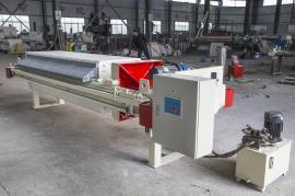 高性能全自动拉板压滤机,聚丙烯厢式压滤机