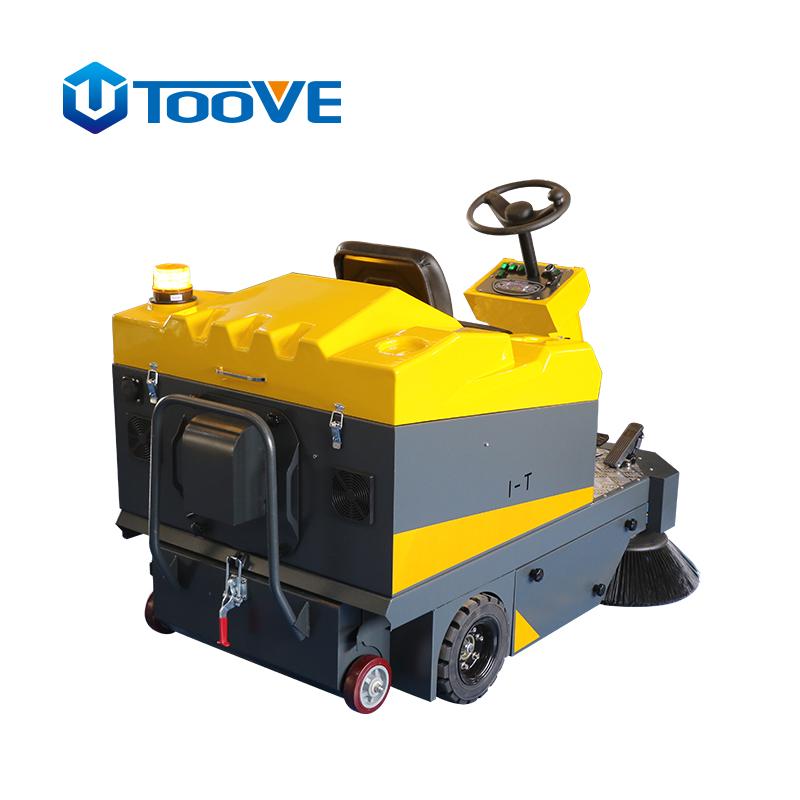 拓威克中小型驾驶式扫地机室内外清扫机