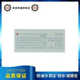 工业键盘 嵌入式薄膜键盘 防尘防水键盘 工业薄膜键盘