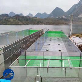 池塘内循环水养殖项目,工厂化循环水养殖、悬浮式养殖水槽
