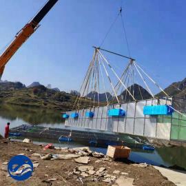 鲈鱼养殖设备 工厂化养鱼设备
