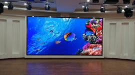 室内展厅P2.5LED显示屏模组拼装及结构边框全包报价