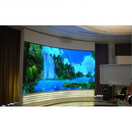 展厅安装LED高清显示屏用P2.0还是P1.8效果好