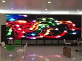 高清室内P1.6LED显示屏,展厅全彩P1.667电子屏工厂报价