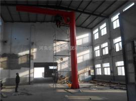 BZD0.25定柱式旋臂起重机 250公斤悬臂吊 360度电动旋转单臂吊