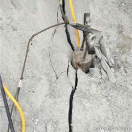 公路修建砂岩开采采石场采石不能爆破用劈裂机贵不贵