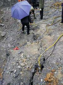 洞采静态破石小型分石机器劈裂棒