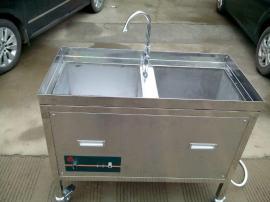 孔孟之乡生产大型商用5000W全不锈钢超声波洗碗机
