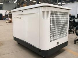 10KVA天燃气液化气发电机静音 220V