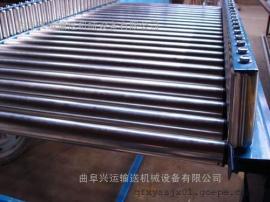 不锈钢滚筒输送机铝型材 水平输送滚筒线