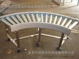 自动化流水线碳钢喷塑 倾斜输送滚筒