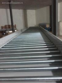 链式滚筒输送机多层分拣 线和转弯滚筒线