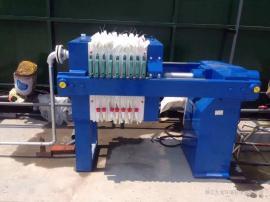 高效脱水小型污泥板框压滤机