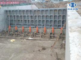液压翻板闸门设计液压翻板坝制作混凝土翻板坝安装