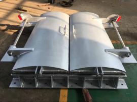 DN1000钢制拍门,中水水利双开式拍门
