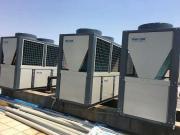 温室大棚空气能热泵采暖热水系统 温室供暖