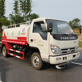 小型3-5吨福田时代洒水车出口 外贸出口
