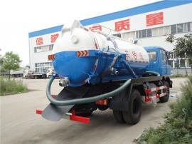 自卸式污泥垃圾清运车-全密封10吨12吨罐式污泥车报价