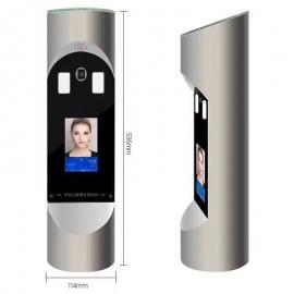 纽达动态人脸识别门禁系统一体机 人脸识别闸机