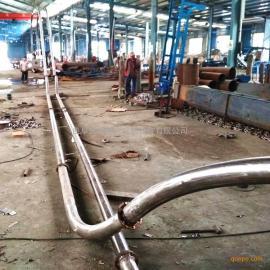 水泥粉管链输送机 设计密封式管链输送机 徐