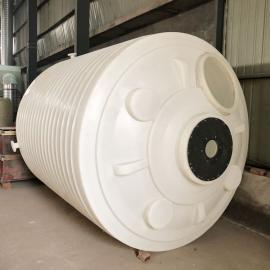 10吨PE大型药箱 10立方加厚塑料滚塑容器 耐酸碱大型搅拌罐