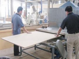 木板材隧道式微波干燥杀菌设备