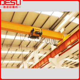德速LD型2吨欧式单梁桥式起重机,结构轻巧、安装维护方便
