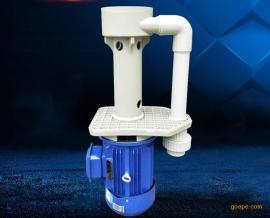 氟塑料耐酸碱液下泵 电镀涂装前处理泵 可空转耐酸碱立式泵