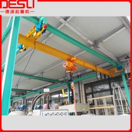 德速ELX系列欧式悬挂起重机,2吨欧式电动单梁悬挂行吊